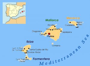 Cartina Spagna Isole Baleari.Isole Baleari Catacruises